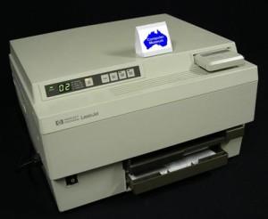 первый персональный лазерный принтер от компании HP