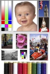 Цветная тестовая страница для принтера