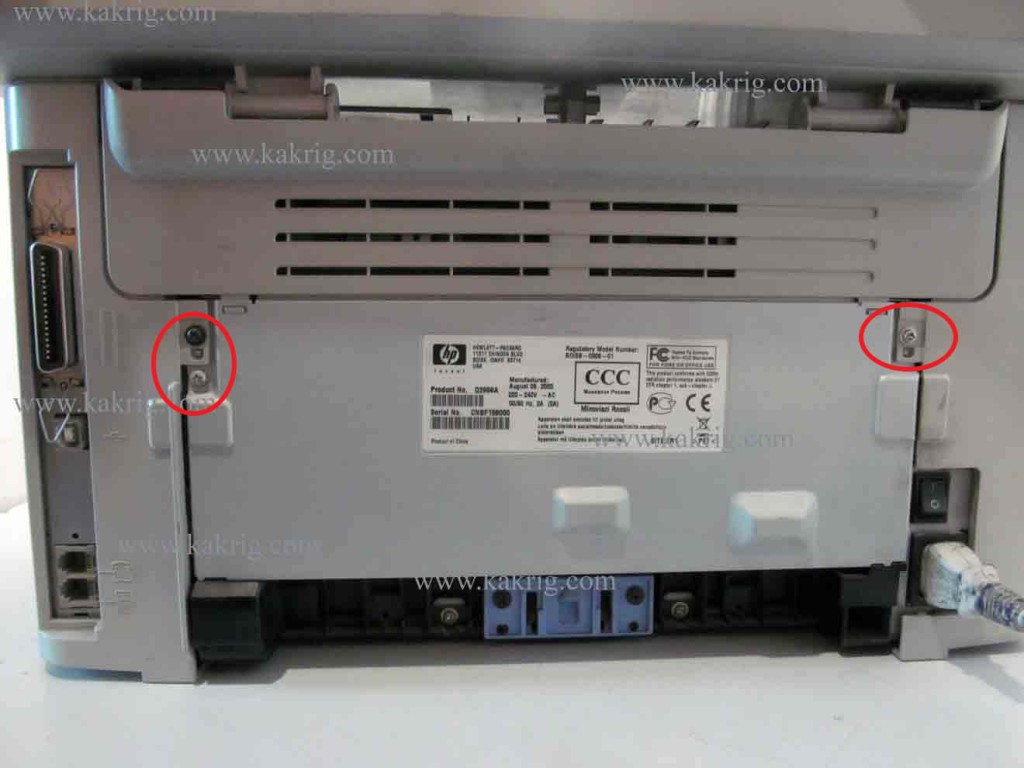 замена термопленки в hp