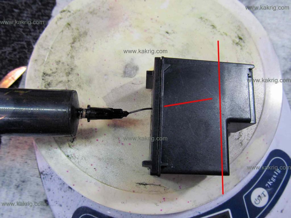 hp 122 инструкция по заправке